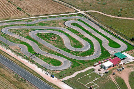 karting caceres pista