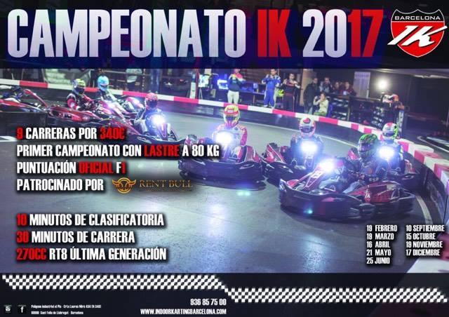 cartel campeonato ikb 2017