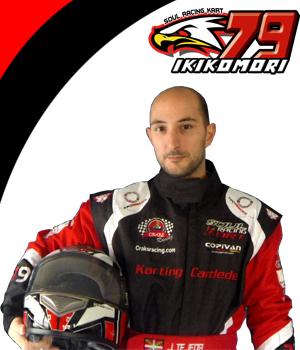 Jose Tejeda soul racing kart piloto