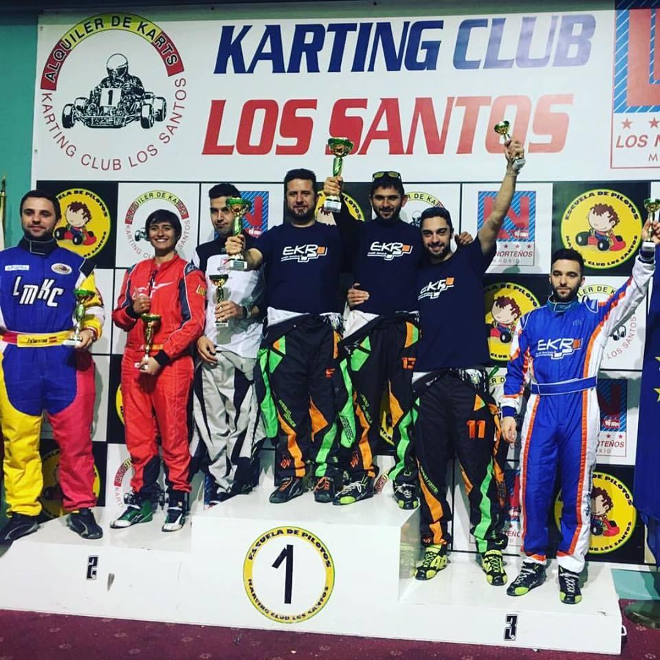 podium resistencia karting los santos 2017