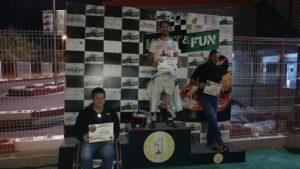kart&fun podium primera carrera
