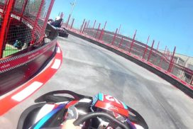 karting rivas on board