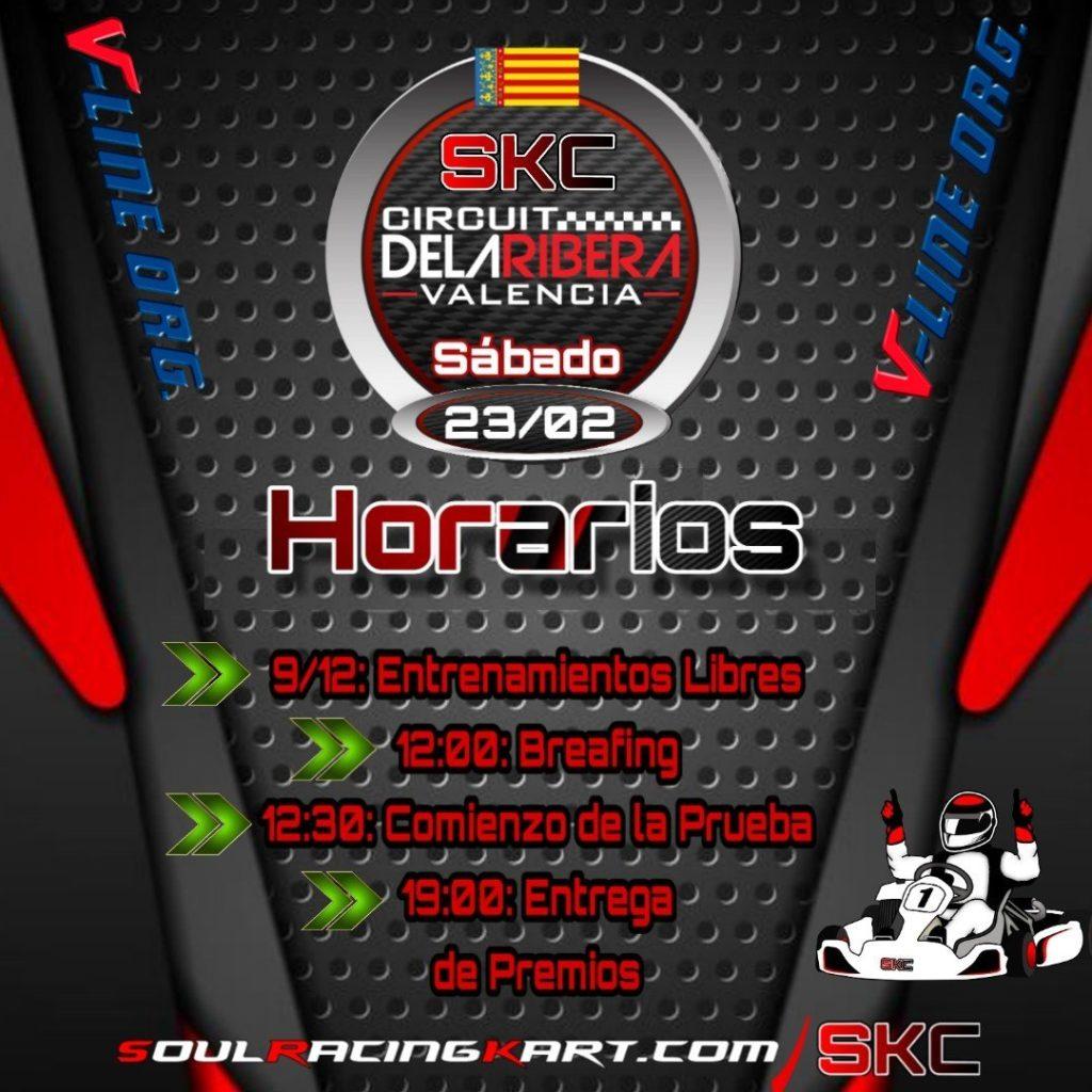HOrarios SKC la Ribera