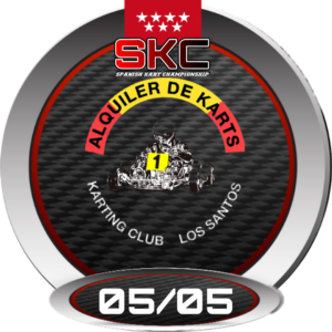 Logo Karting Club Los Santos SKC