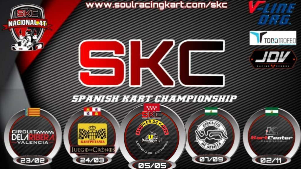 Spanish Kart Championship SKC Calendario